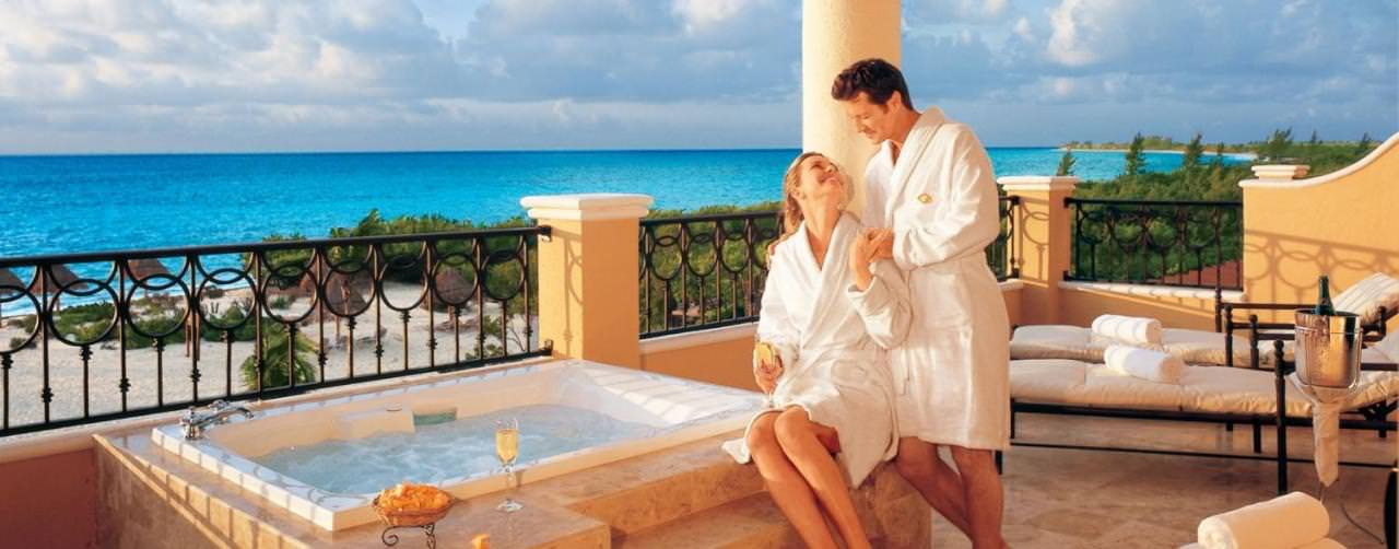 All Inclusive Resorts Secrets Resorts And Spas Room Jacuzzi Balcony
