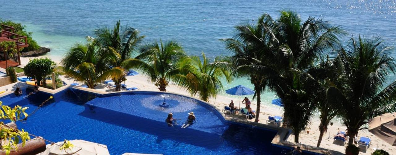 All Inclusive Resorts Zoetry Beach Pool View