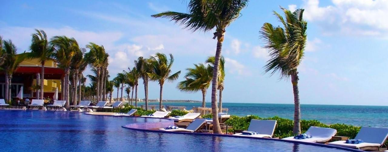 All Inclusive Resorts Zoetry Pool Lounges