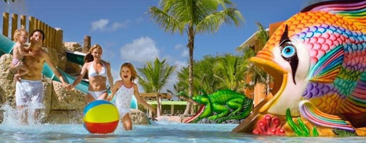 Barcelo Bavaro Palace Deluxe Punta Cana Dominican Republic Kids Club Waterpark