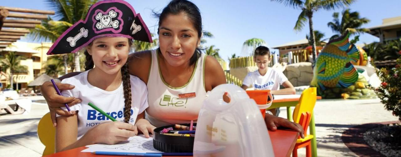Barcelo Maya Palace Deluxe Riviera Maya Mexico Kids Club Staff