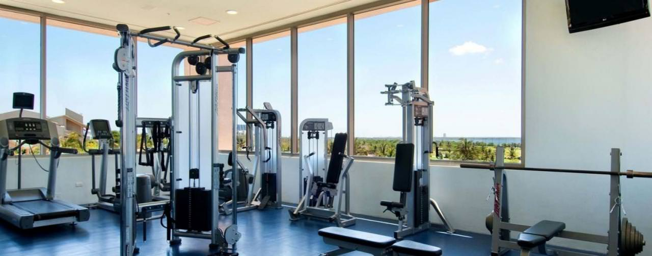 Cancun Mexico Iberostar Cancun Health Club Fitness Center Work Out Gym