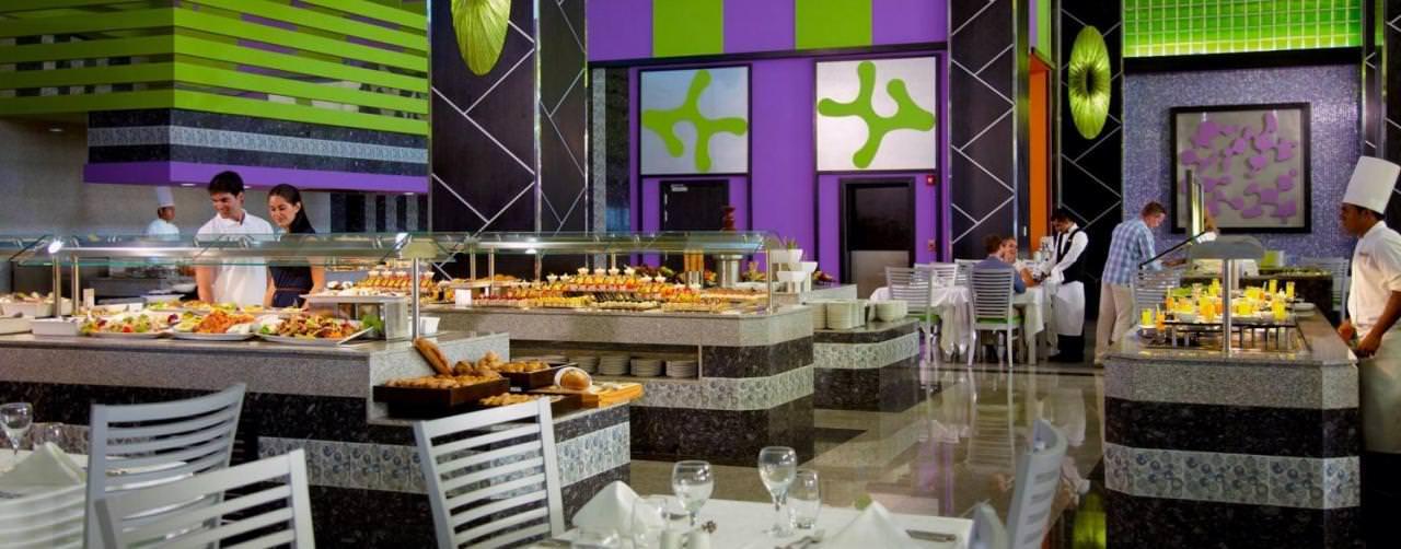 Cancun Mexico Riu Palace Peninsula Restaurant Buffet