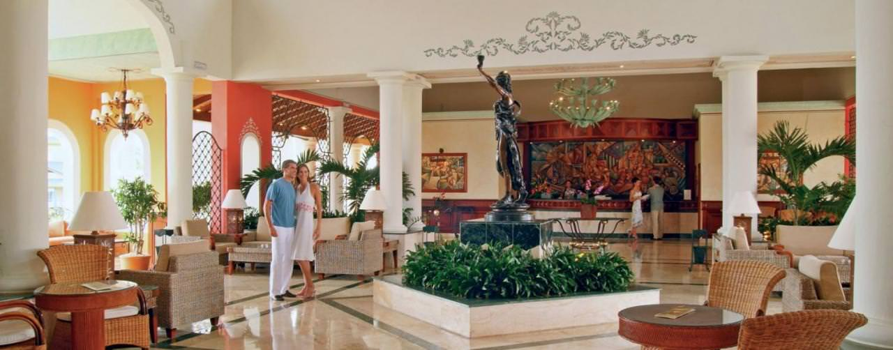 Grand Bahia Principe Bavaro Resort Punta Cana Dominican Republic Amenities Lobby