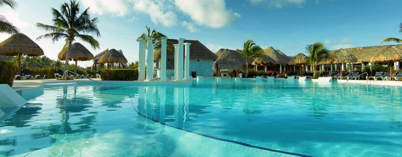 Grand Palladium Colonial Kantenah Riviera Maya Mexico Pool Infinity