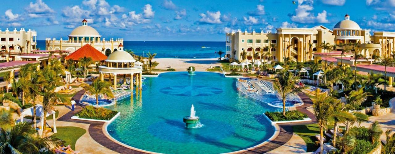 Iberostar Hotels Pool Aerial Salt Water View