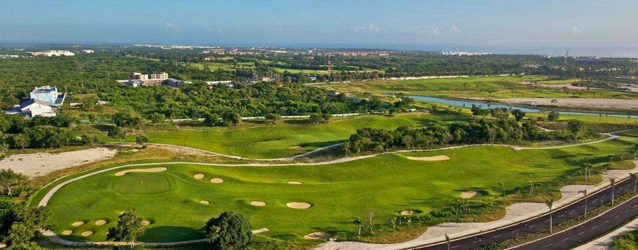 Iberostar Punta Cana Punta Cana Dominican Republic Activities Golf Course Aerial View