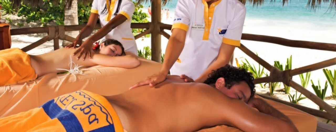 Iberostar Punta Cana Punta Cana Dominican Republic Spa Couples Massage On Beach