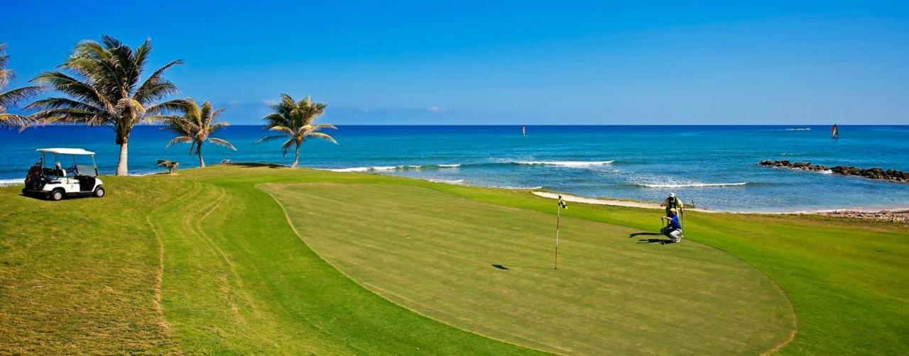 Montego Bay Jamaica Activities Golf Course Ocean Iberostar Rose Hall Suites