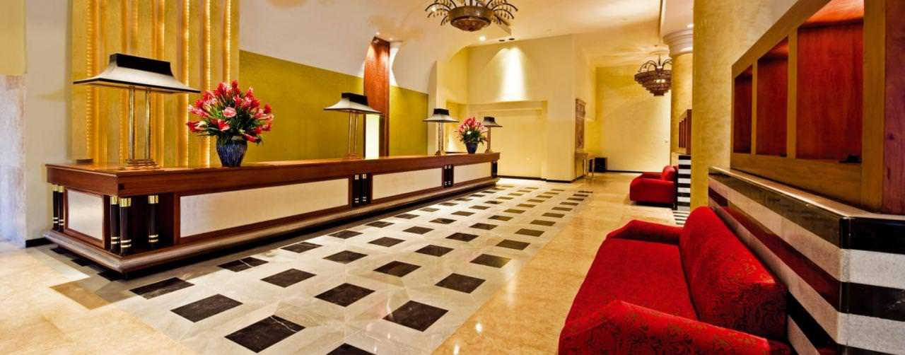 Montego Bay Jamaica Amenities Lobby Reception Iberostar Rose Hall Suites