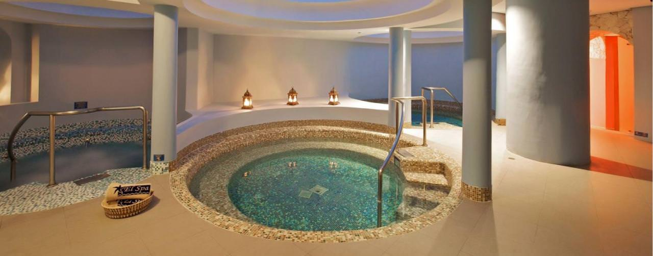 Montego Bay Jamaica Spa Jacuzzi Plunge Pool Iberostar Rose Hall Suites