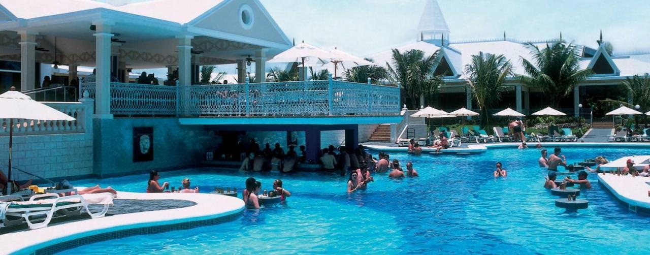 Negril Jamaica Riu Bar Swim Up