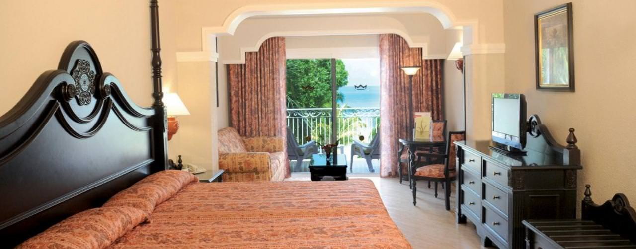 Negril Jamaica Room Juior Suite Oceanview Riu Palace Tropical Bay