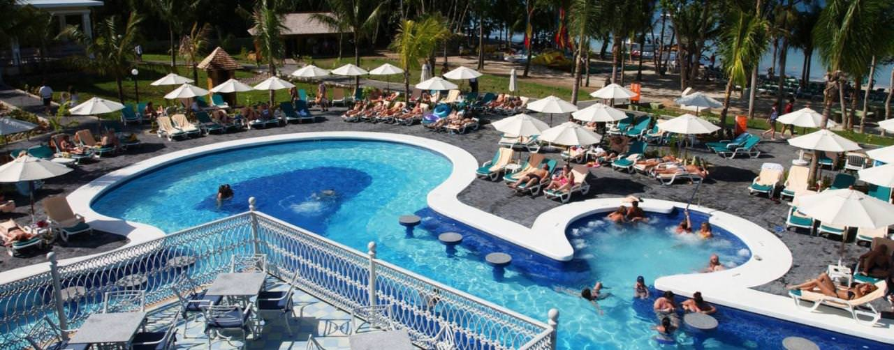 Pool Lounges Riu Negril Negril Jamaica
