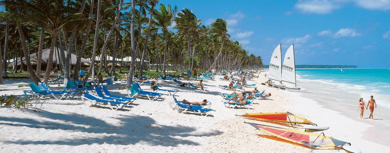 Punta Cana Dominican Republic Beach Chairs Grand Palladium Punta Cana Resort Spa