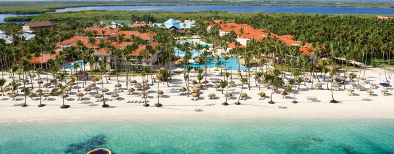 Punta Cana Dominican Republic Dreams Palm Beach Punta Cana Drepb_aerial1_1
