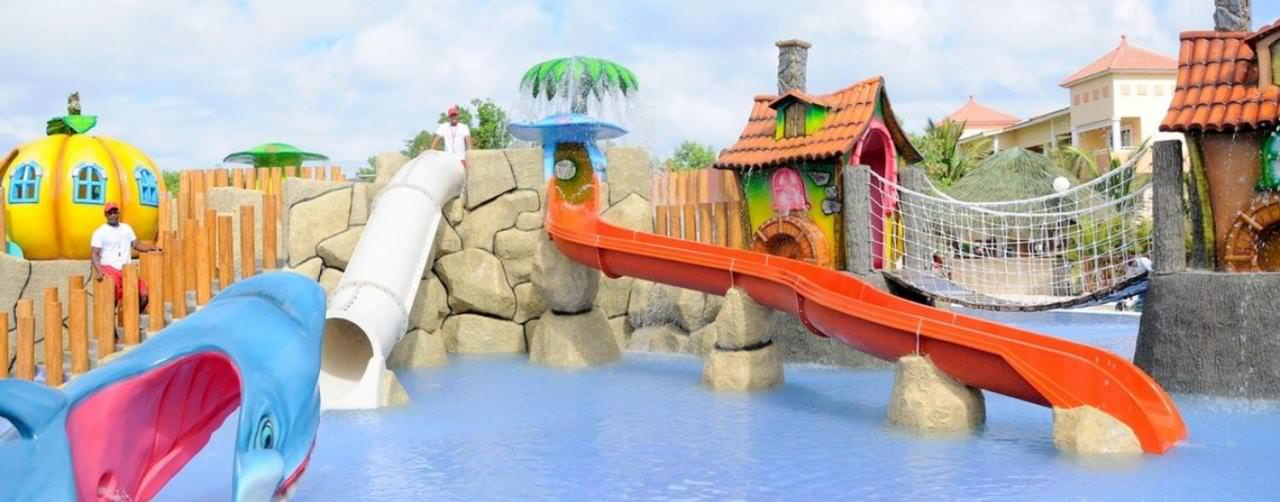 Punta Cana Dominican Republic Grand Bahia Principe Bavaro Resort Kids Water Park