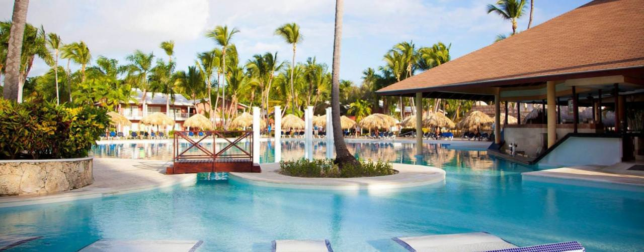Punta Cana Dominican Republic Grand Palladium Bavaro Resort Spa Pool Samana
