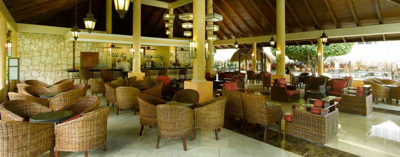 Punta Cana Dominican Republic Grand Palladium Punta Cana Resort Spa Bar Lobby