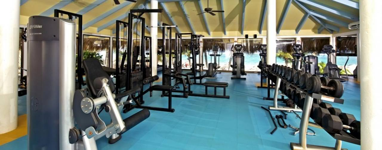 Punta Cana Dominican Republic Iberostar Bavaro All Suite Resort Gym