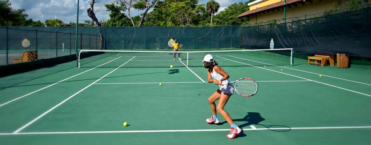 Punta Cana Dominican Republic Iberostar Punta Cana Activities Tennis Courts