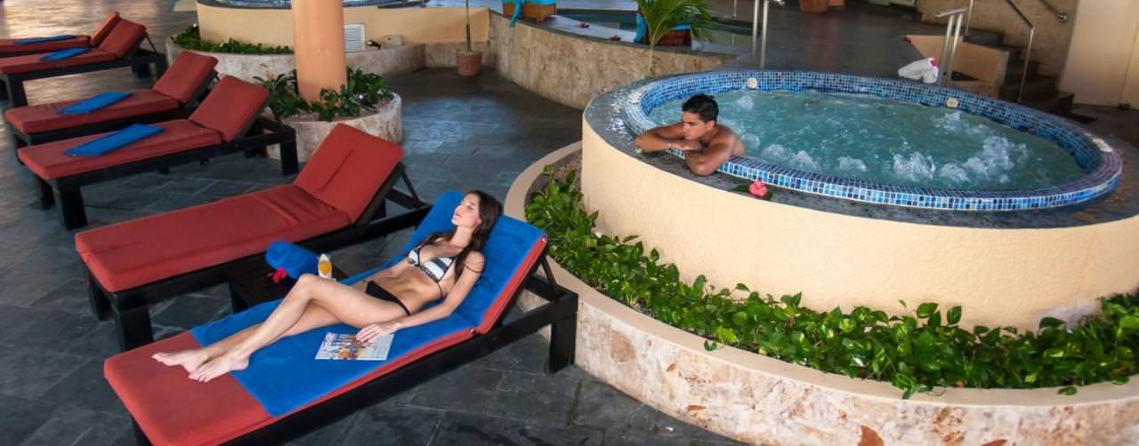 Punta Cana Dominican Republic Spa Jacuzzi Grand Palladium Bavaro Resort Spa