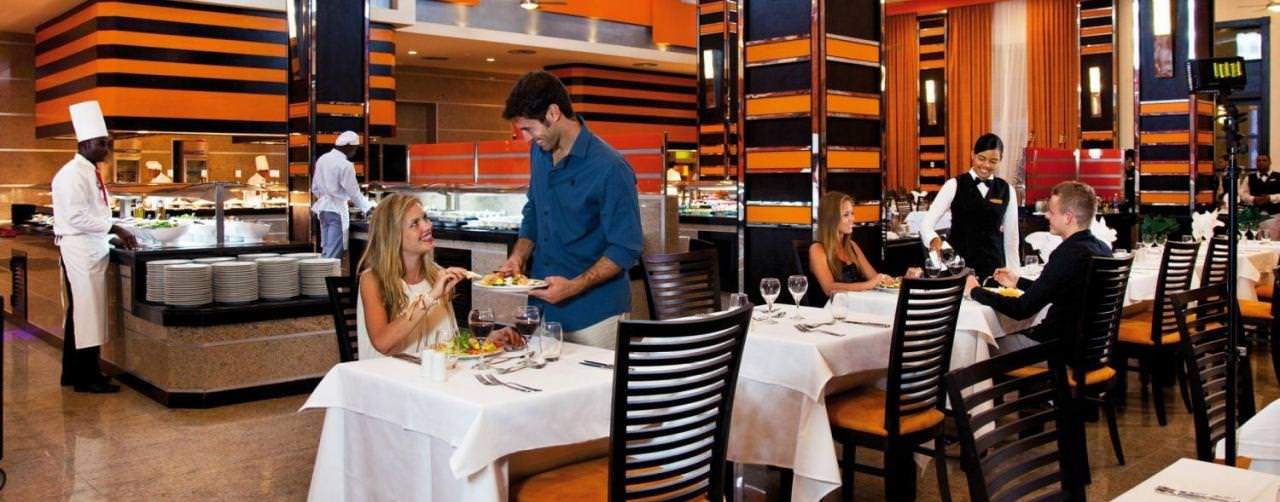 Restaurant Buffet Riu Palace Bavaro Punta Cana Dominican Republic