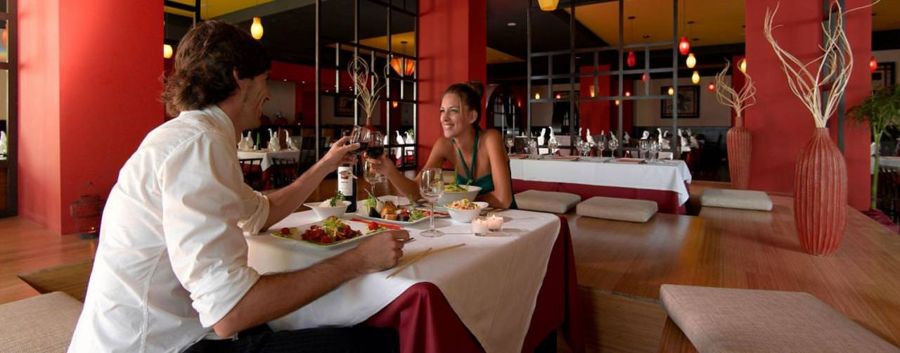 Restaurant Lotus Romantic Grand Palladium Jamaica Resort Spa Montego Bay Jamaica