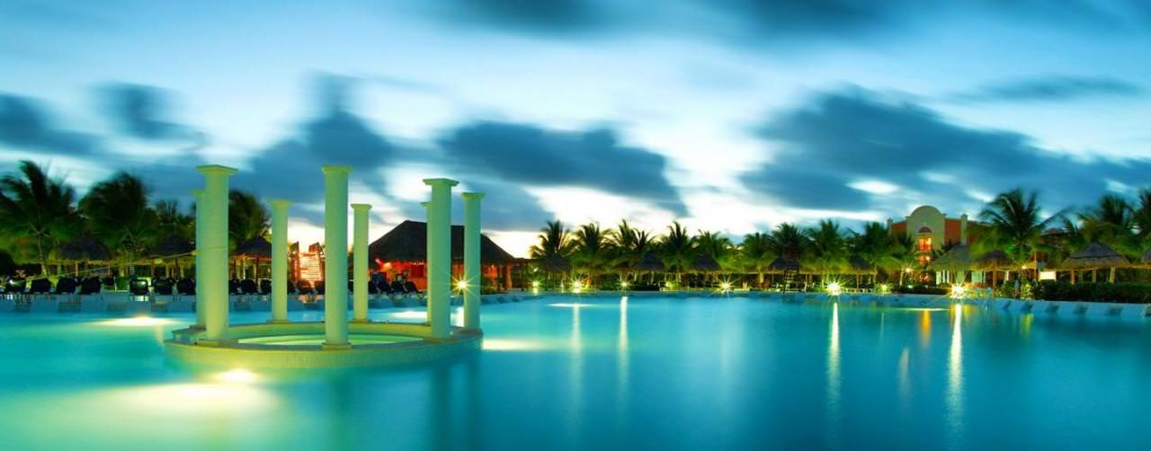 Riviera Maya Mexico Grand Palladium Colonial Kantenah Pool View