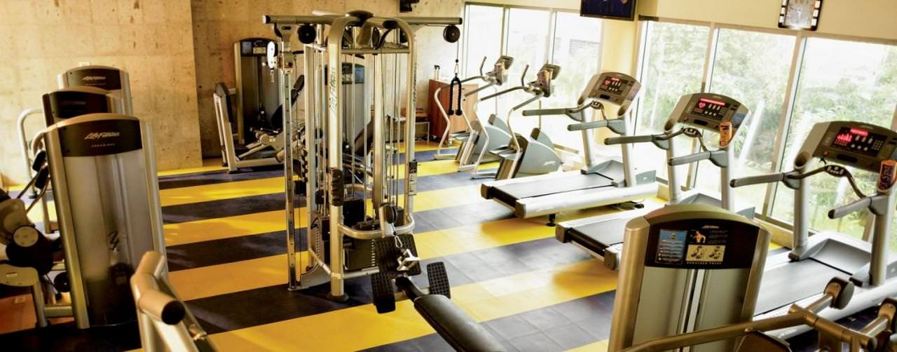 Riviera Maya Mexico Iberostar Grand Hotel Paraiso Health Club Gym Equipment Fitness