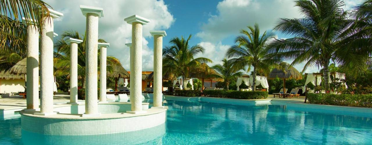 Riviera Maya Mexico Pool Main Grand Palladium Colonial Kantenah
