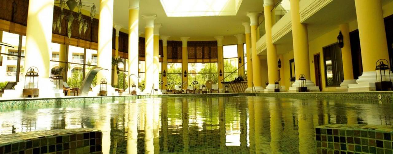 Riviera Maya Mexico Spa Indoor Pool Iberostar Grand Hotel Paraiso
