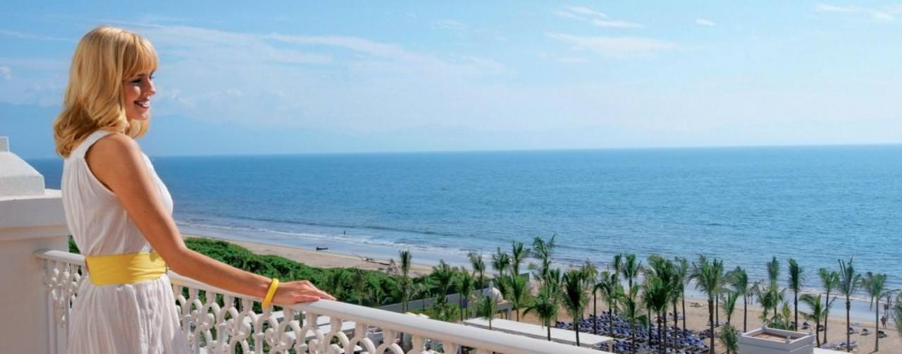 Riviera Nayarit Puerto Vallarta Amenities Balcony Aerial View Beach Riu Palace Pacifico