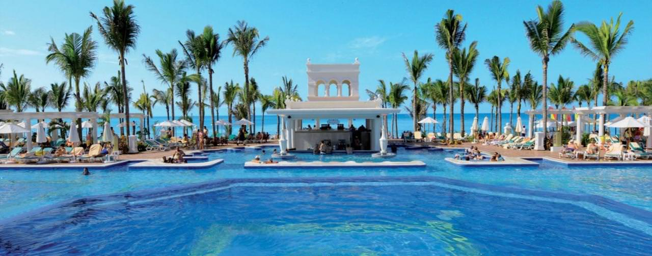Riviera Nayarit Puerto Vallarta Pool Swim Up Bar Infinity Riu Palace Pacifico