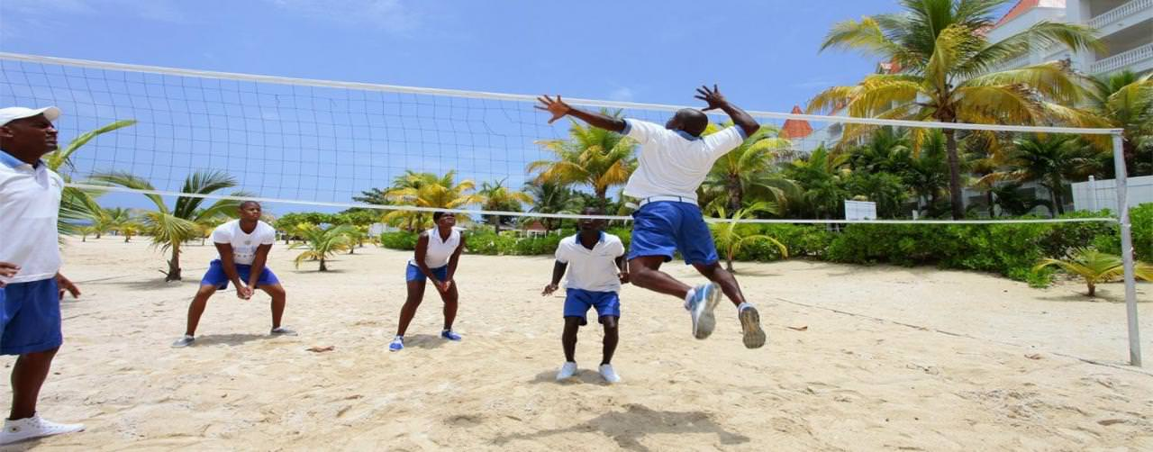 Runaway Bay Jamaica Grand Bahia Principe Jamaica Activities Volleyball