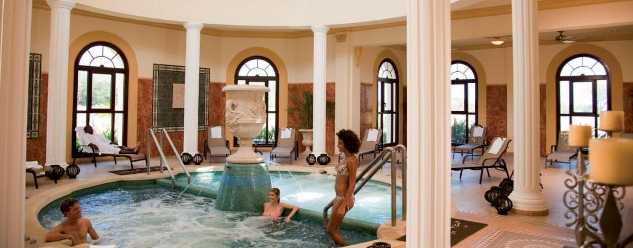 Spa Hydro Therapy Plunge Pool Riu Guanacaste Costa Rica