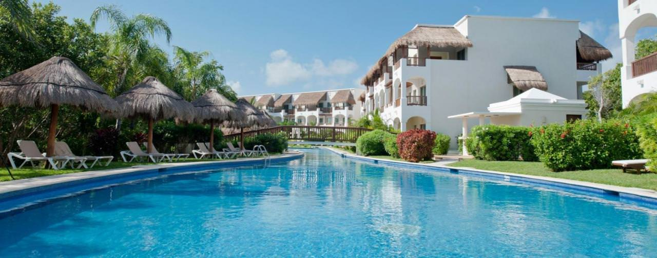Valentin Imperial Maya Riviera Maya Mexico Pool Golden Junior Suite Swim Up
