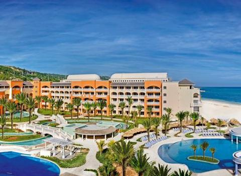 Aerial View Of Iberostar Rose Hall Suites