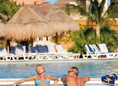 Cool Off In Iberostar Paraiso Maya Pool