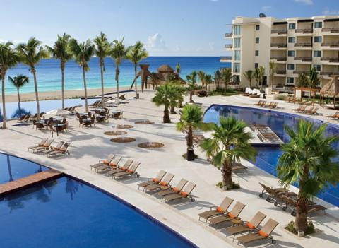 Dreams Riviera Cancun Resort Spa Pool 4