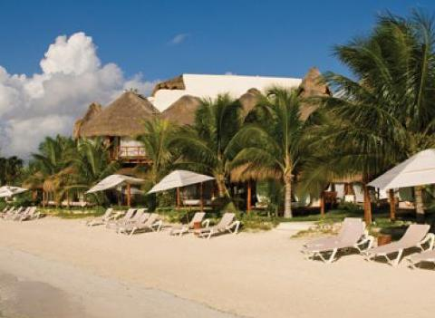El Dorado Maroma Beach Resort Beach 2