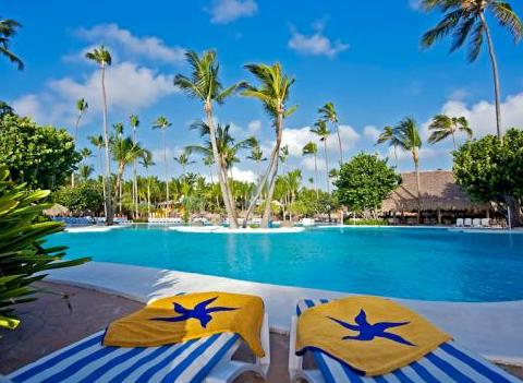 Iberostar Bavaro All Suite Resort Pool Side Lounge Chairs