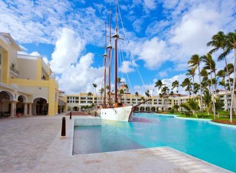 Iberostar Grand Hotel Bavaro Has A Ship In The Pool