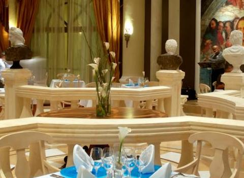 Iberostar Grand Hotel Paraiso Restaurant With Charming Decor