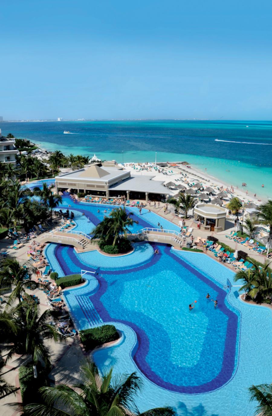 Riu Caribe All Inclusive Beach Resort Cancun Mexico