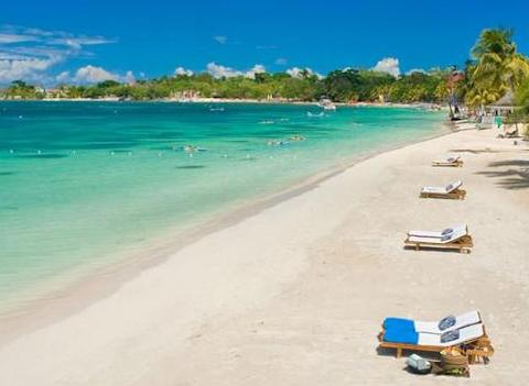 Sandals Negril Beach Resort Spa Beach 1
