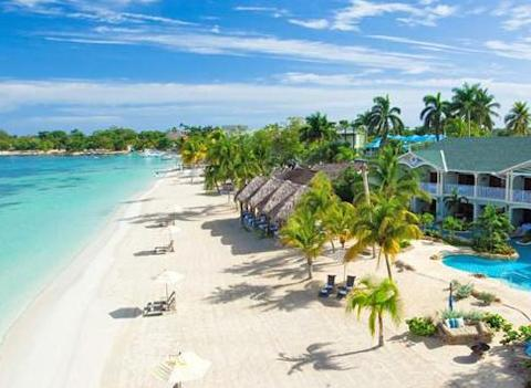 Sandals Negril Beach Resort Spa Beach