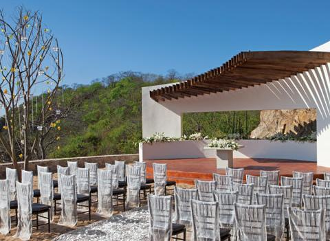 Secrets Huatulco Resort Spa Wedding 1