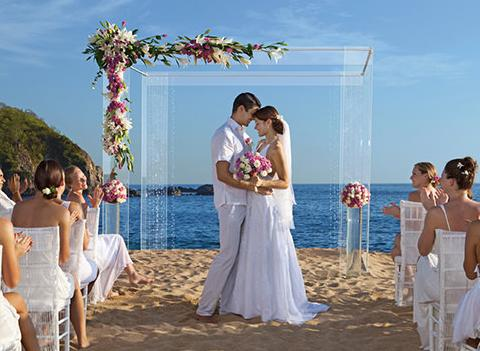 Secrets Huatulco Resort Spa Wedding