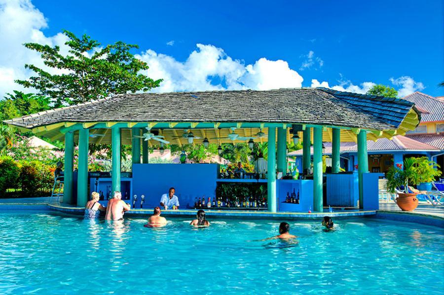 St Lucia Uvf Almond Morgan Bay Beach Resort